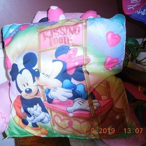 Micky & Minnie Mouse Pillow